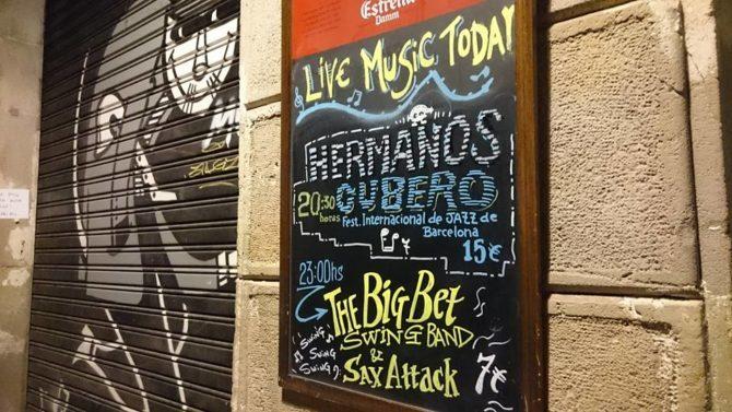 Harlem Jazz Club, Barcellona