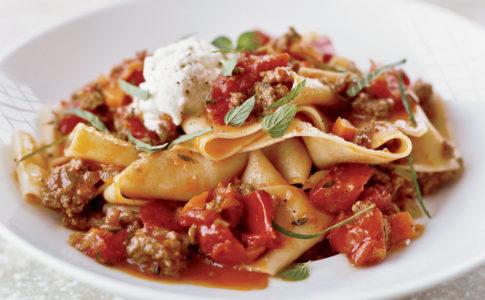 Pappardelle, must della cucina italiana