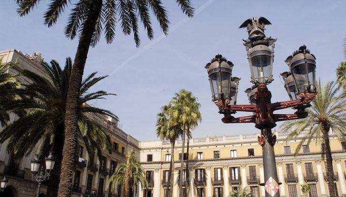Placa Reial, Barcellona