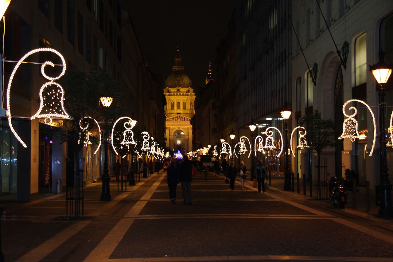Natale a Budapest