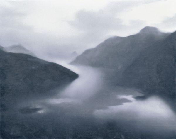 GERHARD RICHTER, VIERWALDSTÄTTER SEE, 1969 Huile sur toile, 120 x 150 cm