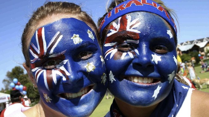 Perth Medibank Private Australia Day Fun Run January 26th 2006 at Subiaco. Photos available to purchase with fun run logo and your name on print. See samples. All photos are colour corrected, cropped to suit and are high resolution printed professionally on photographic paper without the watermark. Photo by Ivan Shaw