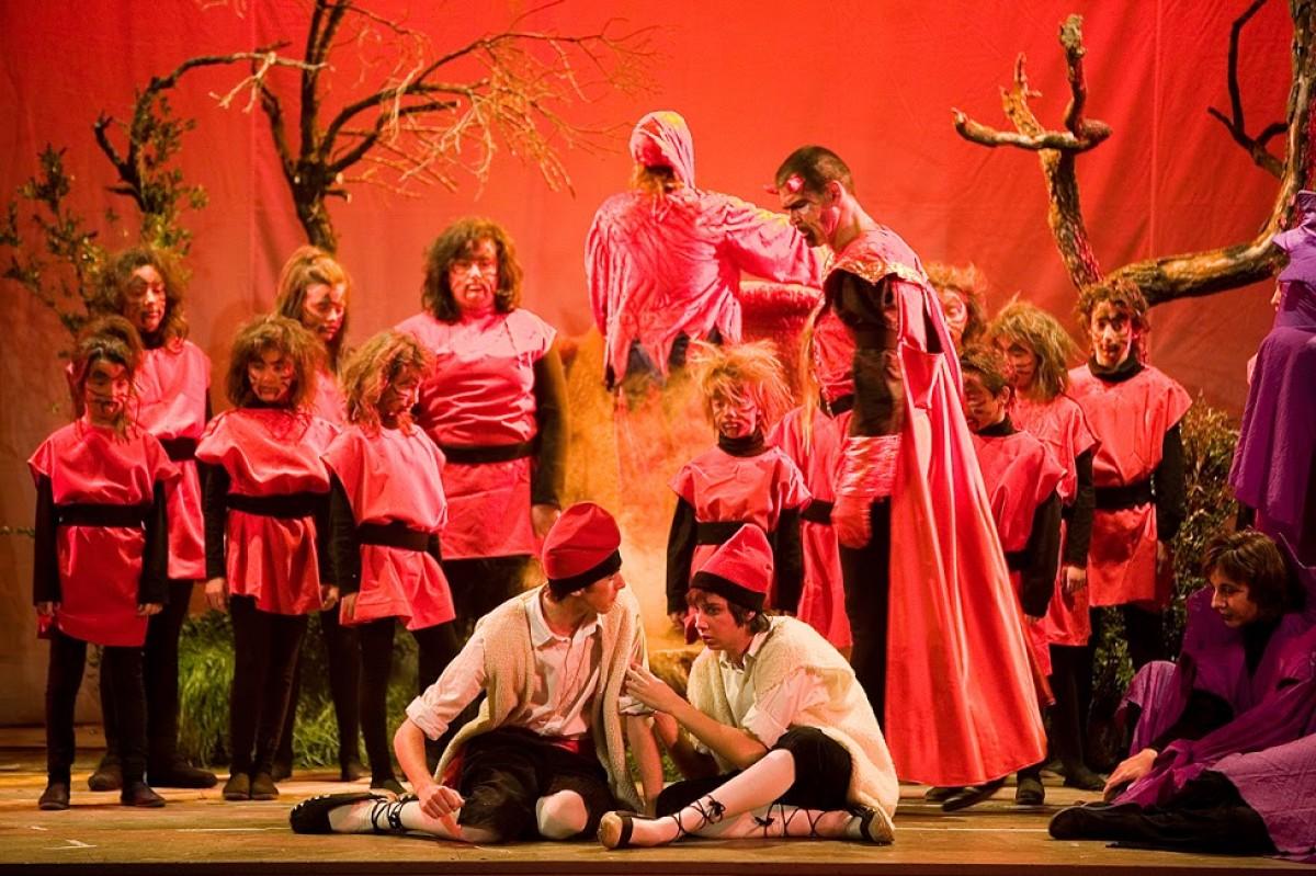 Els Pastorets, rappresentazione teatrale famosa del Natale a Barcellona e Catalogna