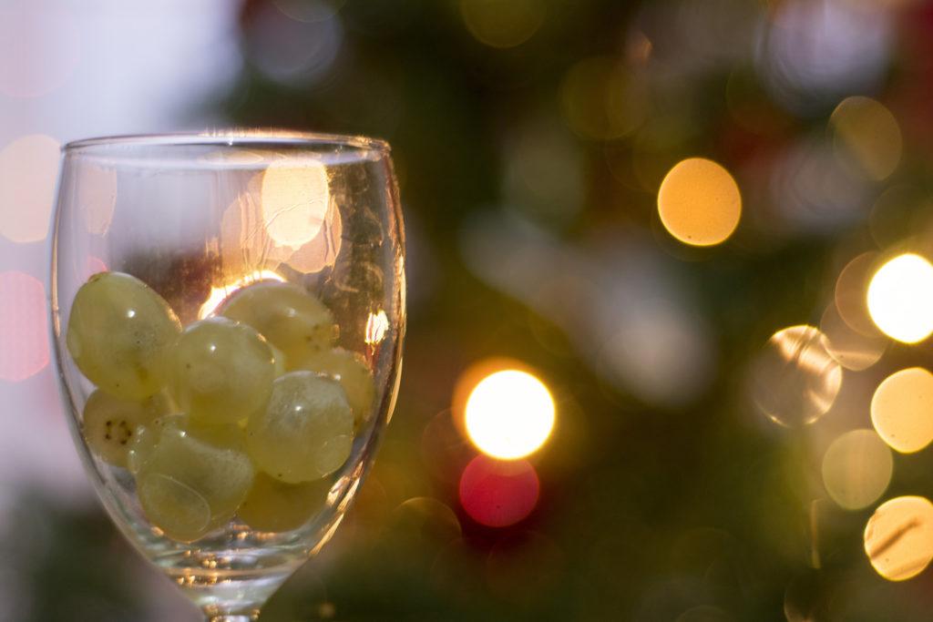 Uva, da mangiare per Capodanno (Natale in Spagna)