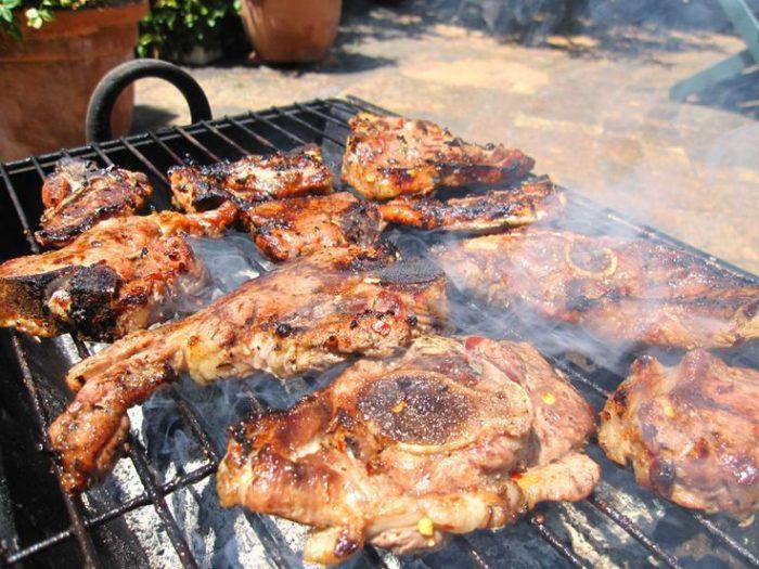 Barbeque in Sudafrica