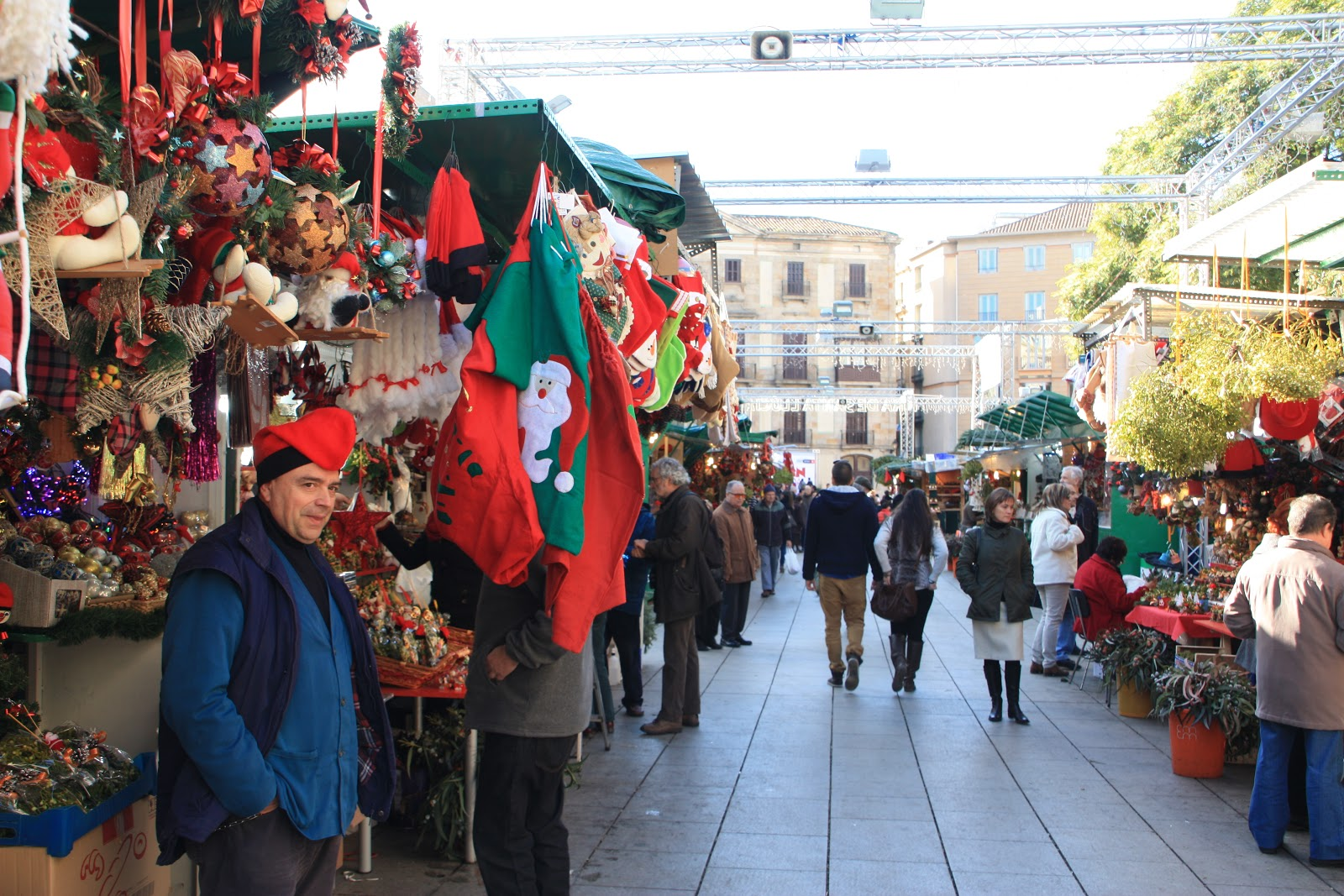 Fira de Santa Llucia, Barcellona © escribientedetodo.blogspot.com.es
