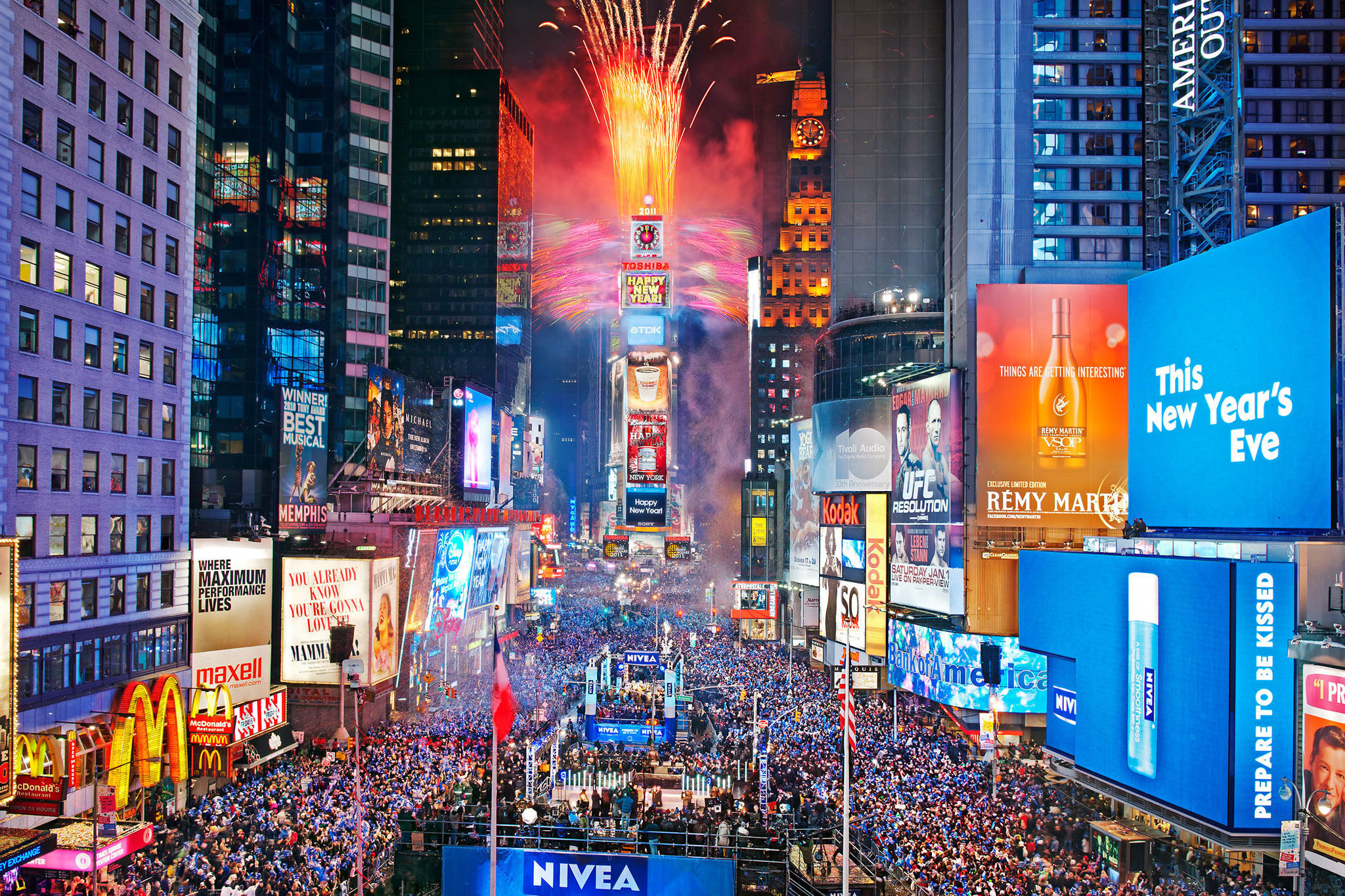 New york tgtourism for Time square londra