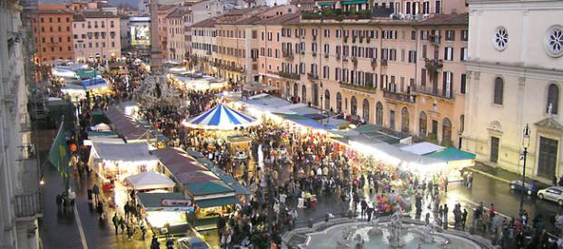 Natale a roma tra mercatini men gourmet ed eventi for Mercatini antiquariato roma