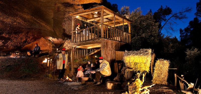 Presepe vivente Corbera, tipico del Natale vicino a Barcellona