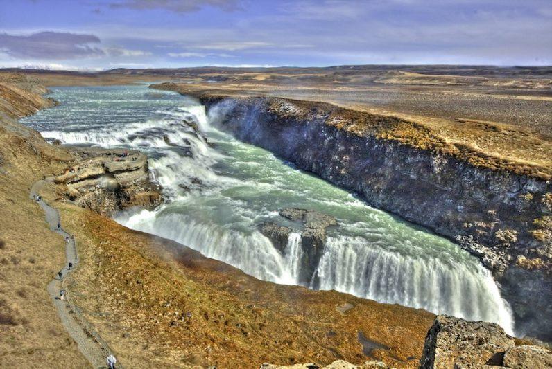 Gullfoss, Islanda