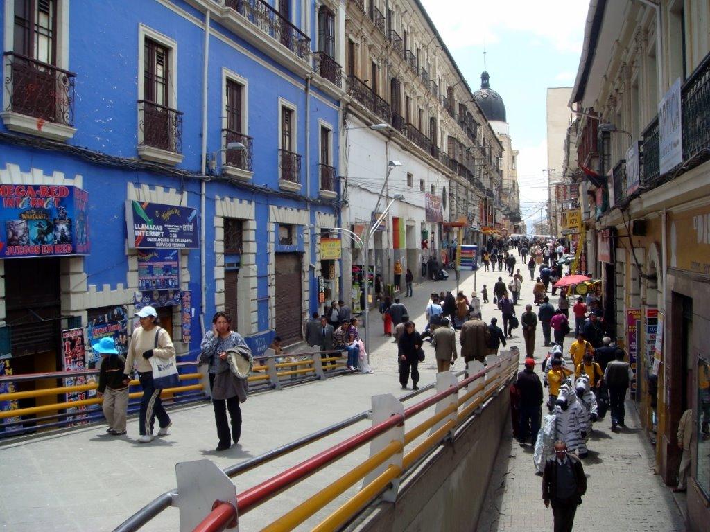 Calle Comercio, Bolivia