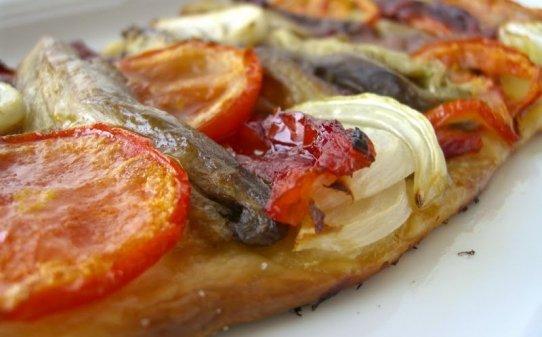 Coca de recapte (piatto tipico della cucina catalana)