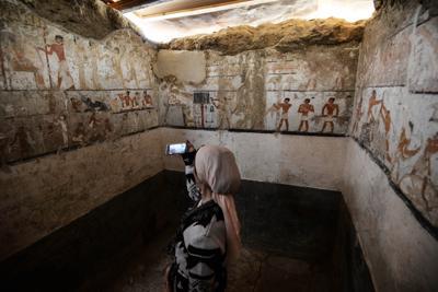 Egitto: trovata la tomba di una sacerdotessa - TgTourism