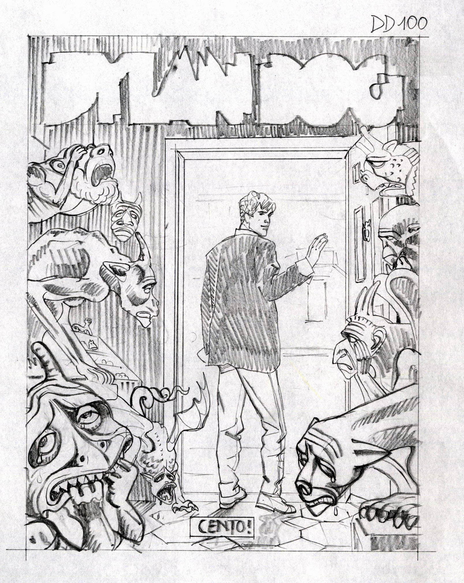 Dylan Dog Spider Man E Diabolik Al Museo Del Fumetto Di Milano