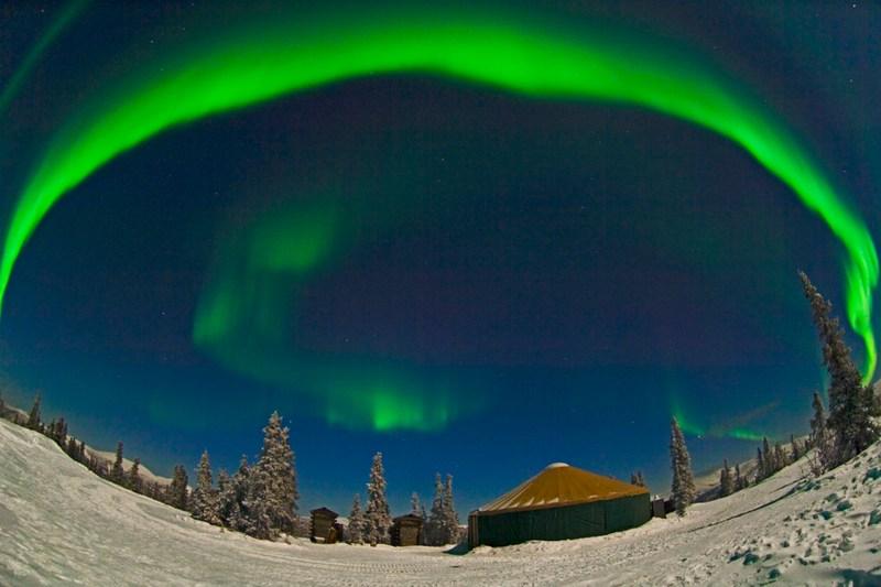 i 10 migliori hotel panoramici dove vedere l'aurora boreale