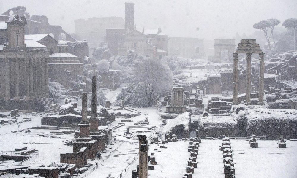Emergenza neve, Protezione Civile: 254 squadre e oltre mille volontari sul territorio