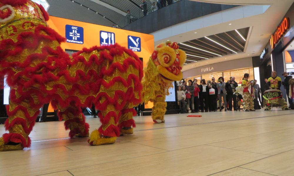 """Capodanno cinese, all'aeroporto di Fiumicino si celebra """"L'anno del Cane"""""""