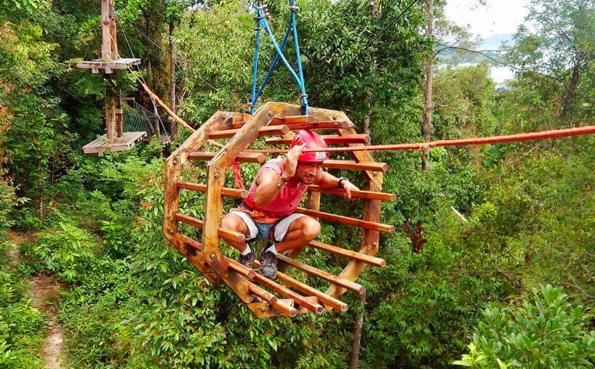 High Point Adventure Park, Kog Rong