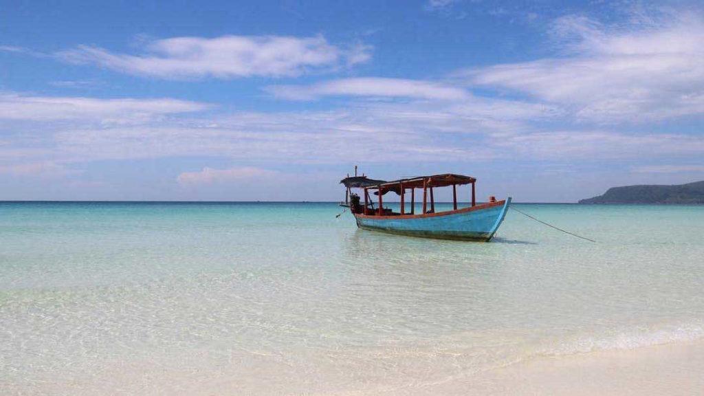 Long Set beach di giorno, Koh Rong 2