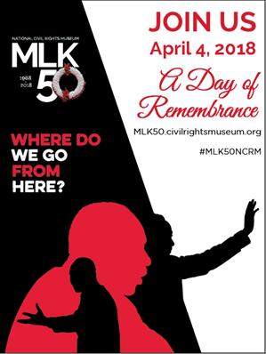MLK50, Memphis commemora i 50 anni dalla morte di Martin Luther King