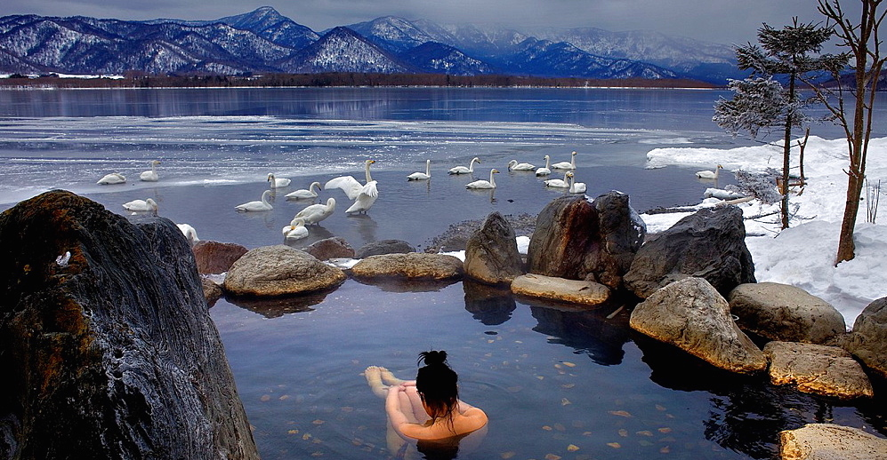Onsen in Hokkaido