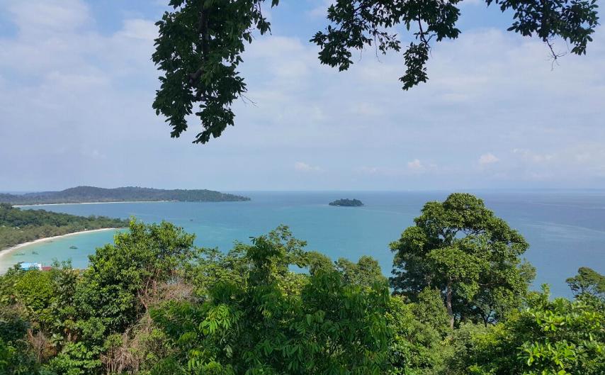 Vista dal High Point Adventure Park, Kog Rong