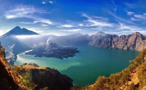 Vulcano Rinjani, Lombok