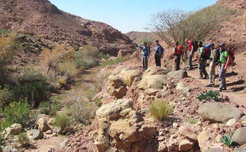 Thru-Hike 2018, l'escursione lungo la Jordan Trail