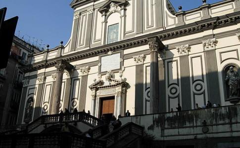 Napoli, crollo nel convento di San Paolo Maggiore: feriti quattro operai