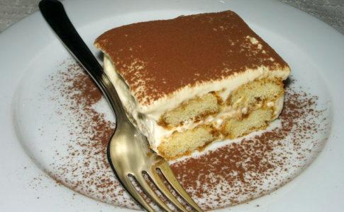 Il tiramisù è il dolce più ordinato in Italia