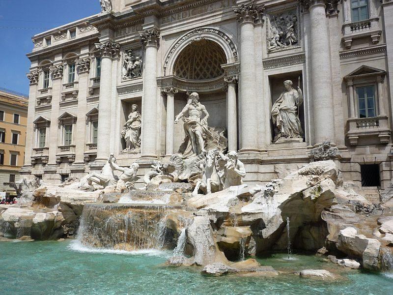 Una passeggiata per le fontane di Roma