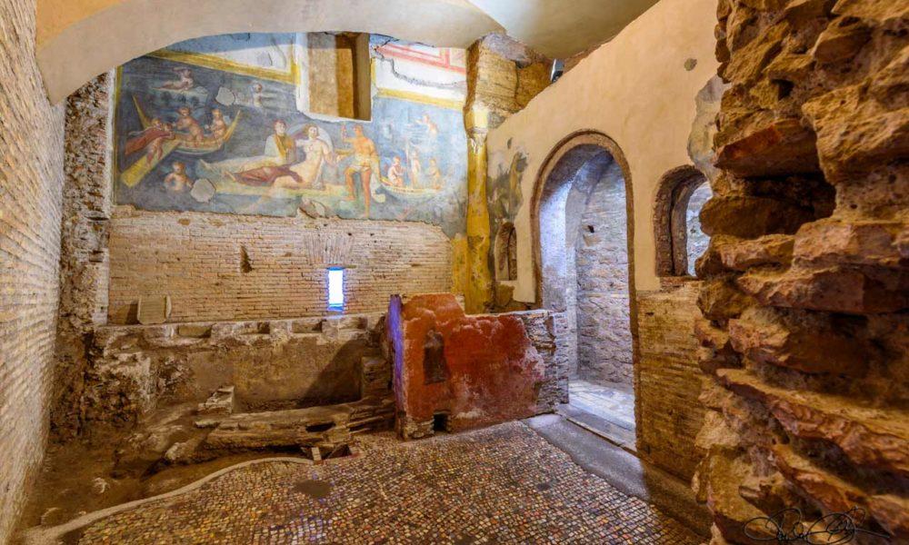 Alle Case Romane l'unico apericena archeologico di Roma con ricette di Apicio e Catone