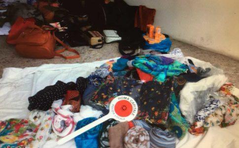 abusivismo commerciale, controlli e sequestri a roma 25 aprile