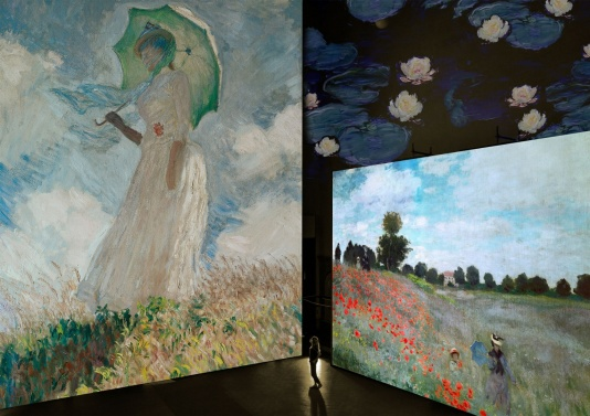Monet Experience, svelate le tecniche di Monet ne I Papaveri
