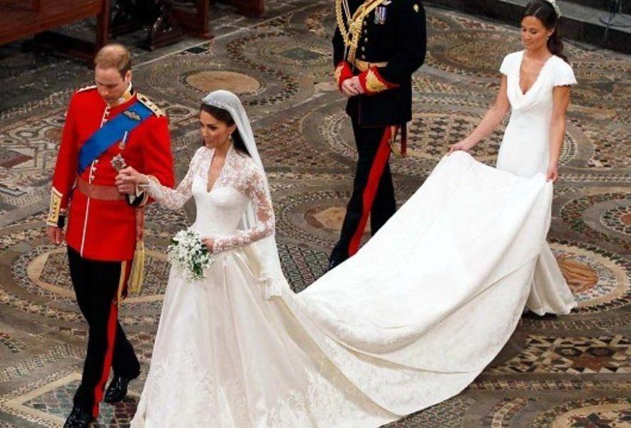 Vestiti Da Sposa Kate Middleton.Replica Da 200 Euro Dell Abito Nuziale Di Kate Middleton E Cosi