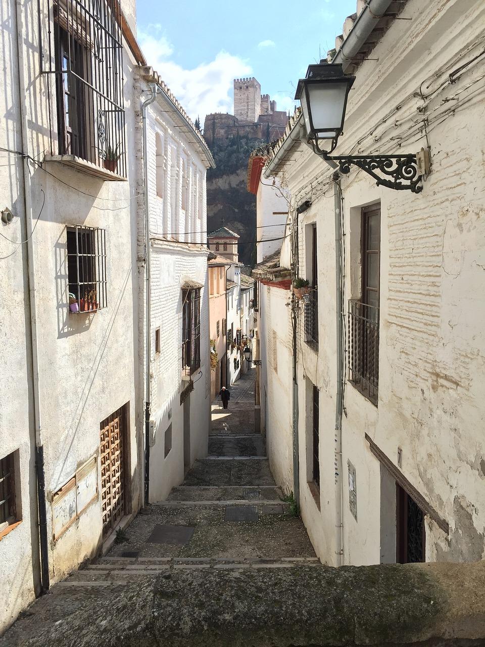 Strade di Granada, Andalusia