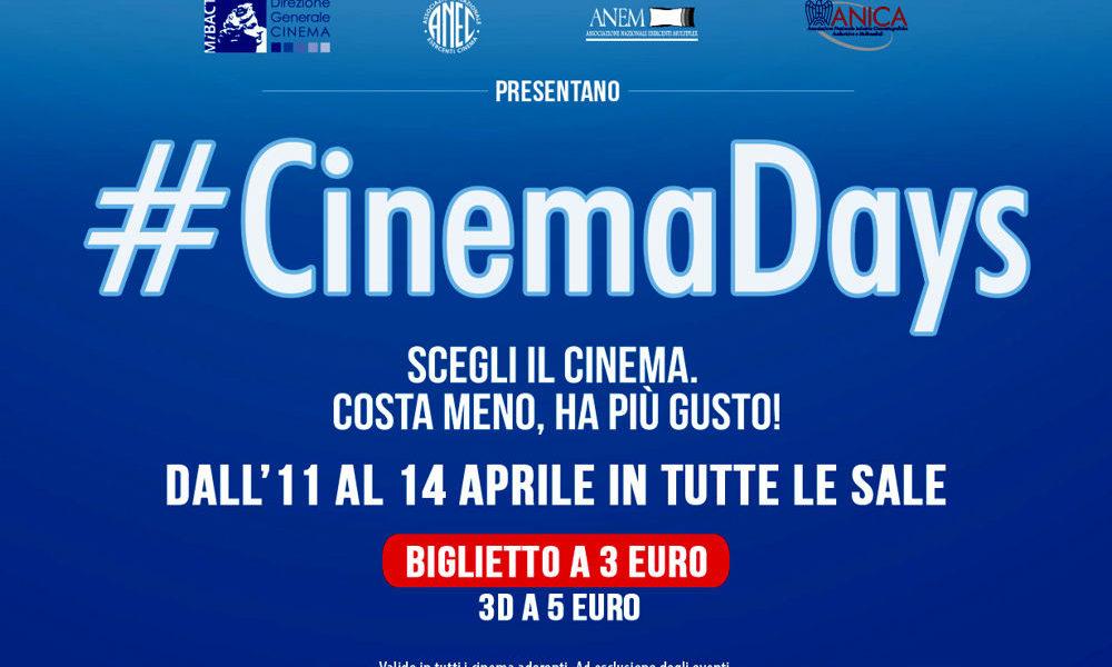 Cinemadays, grande affluenza nei primi due giorni: +48% di presenze