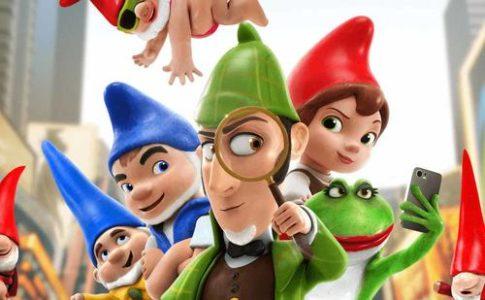 Sherlock Gnomes, il ritorno degli scatenati gnomi da giardino