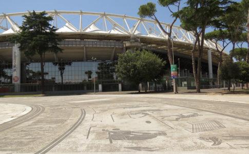 roma-liverpool misure di sicurezza