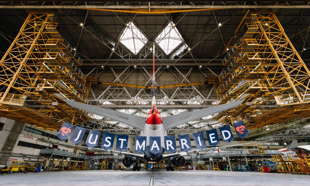 Matrimonio In Alta Quota : Harry e meghan british airways festeggia il matrimonio