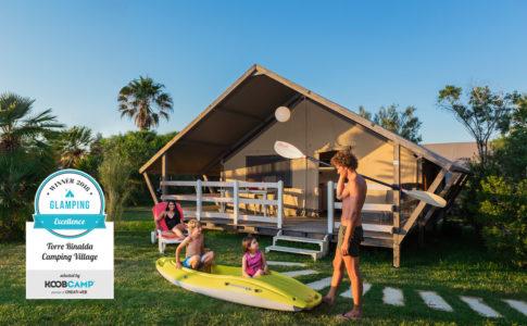 I 10 migliori campeggi per glamping premiati da Koobcamp