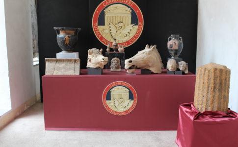 recuperati reperti archeologici per valore di oltre 900 mila euro