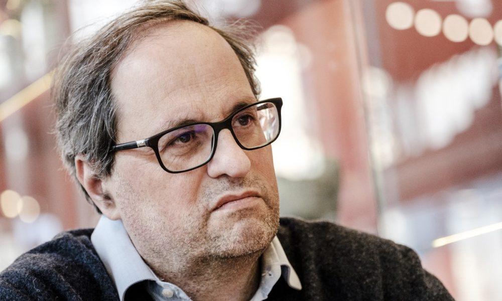 Quim Torra, nuovo candidato di Puigdemont