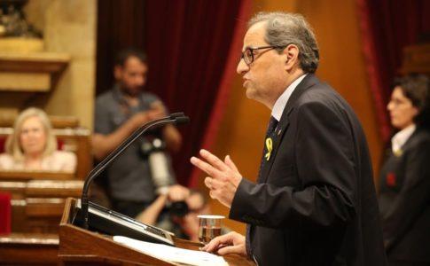 Torra, nuovo presidente della Catalogna