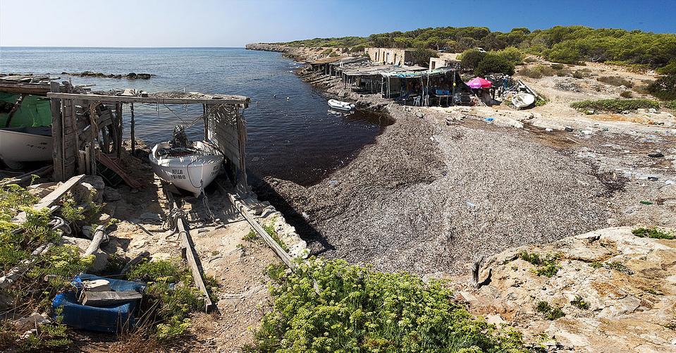 Torrent de S'alga, Formentera