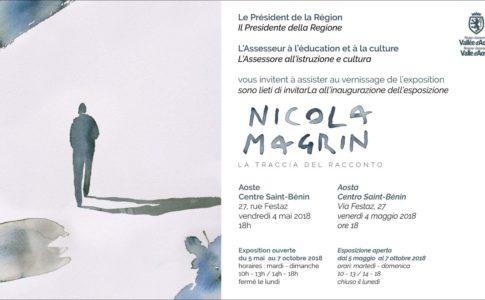 Nicola Magrin. La traccia del racconto, Aosta 4 maggio-7 ottobre 2018