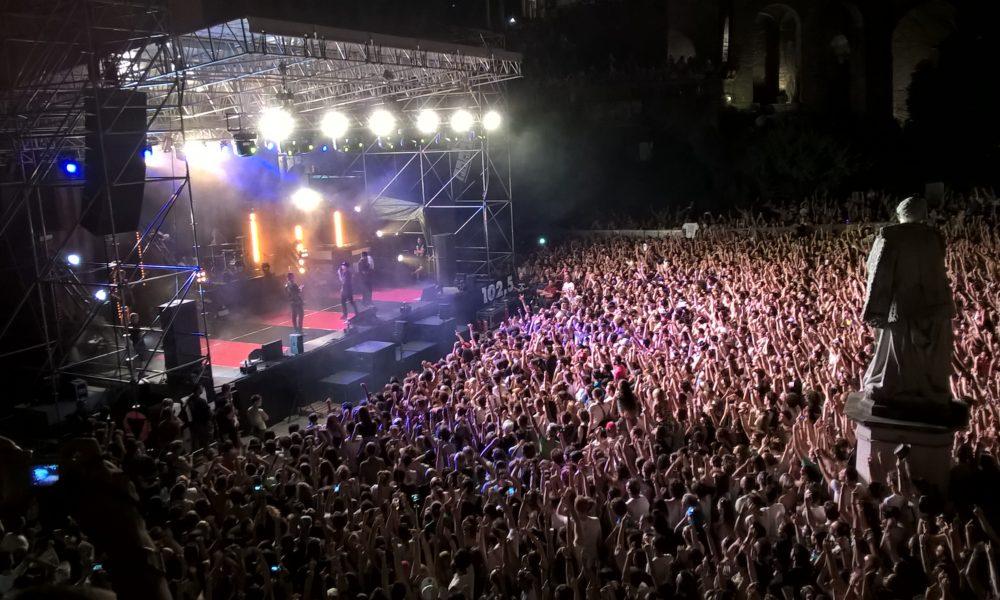 riconoscimento facciale ai concerti
