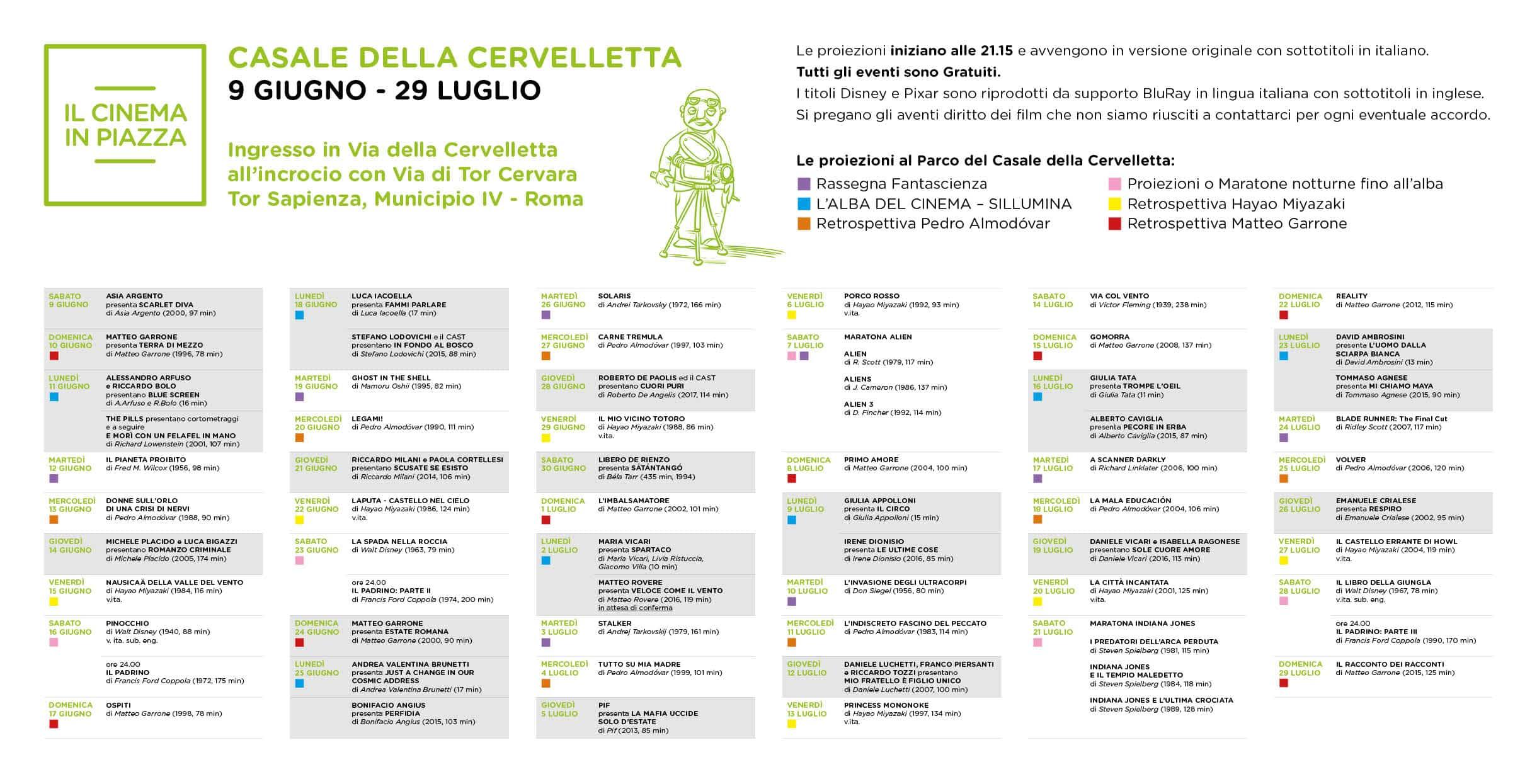 Ecco il programma completo della rassegna romana del for Programma arredamenti ostia