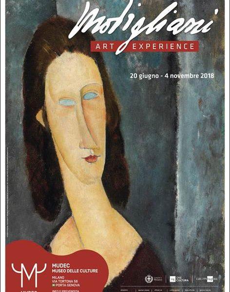 Risultati immagini per Modigliani Art Experience  - Mudec