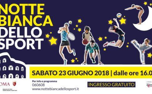 Notte Bianca dello Sport 2018